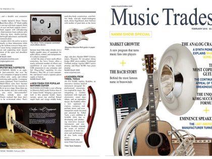 VerveTronix Mojo  Music Trades magazine